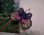 Бабочка из бисера для декора