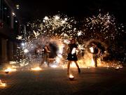 Огненное шоу от команды CrossFire