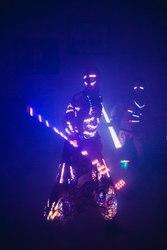 Cross Fire - cветовое шоу,  огненное шоу,  звездная пыль,  живые статуи
